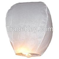 Biodegradable flying sky lanterns