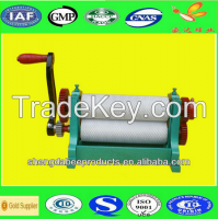 electric beeswax fundation machine with high qulity from shengda