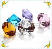 Free Shipping 6cm Hand Made Crystal Diamond For Wedding Table Centerpieces Safest Package with Reasonable Price