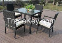 5pcs rattan dining sets