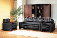 Modern Design Leather Office Sofa Set
