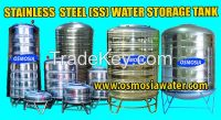 Stainless Steel Water Storage Tank Supplier