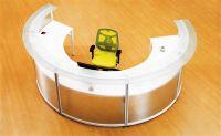curved reception desk furniture(CD-5512)