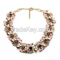 Bulk crystal necklace