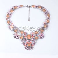 Bulk crystal necklace