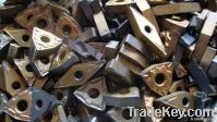 Scrap Tungsten steel