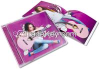 Music CD duplicator case jewel dvd case packaging and printing