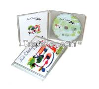 Wholesale CD/DVD cases no hub digital printing