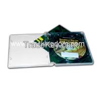 dvd case slim plastic, CD factory fabric box 12x12 packaging