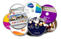 2015 NEW Arrival disc copy cd case colored with packaging service