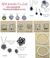 925 sterling silver micro pave jewelry