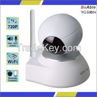 Home security alarm network Wireless Pan & Tilt HD 720P Wifi IP CAMERA