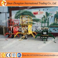 4m-20m height 300kg-1000kg loading capacity mobile hydraulic scissor lift