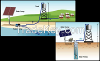 Submersible Solar Pumps, Solar Water Pumping System
