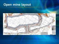 Open granite mine