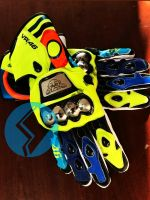 Valentino Rossi Motorbike Leather Racing Gloves