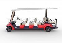 Advanced EV multi passenger electric shuttle vehicle