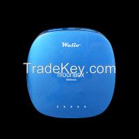 WALIO POWER BANK(Batería Externa) iPow 6000 Azul, 6000mAh, Cargador portátil universal para teléfono móvil smartphone y tablet. Alta capacidad. Indicadores LED. Linterna i
