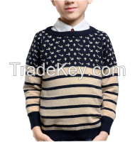 kids clothes child sweater patterns pullover knitting design for