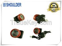 Free Shipping led headlight cree headlight 4800lux mining light Rechargeable