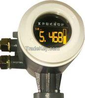 External Ultrasonic Level Gauge/Sensor for Chemical Ammonia Tank