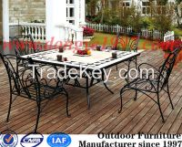 popular sales outdoor furniture square marble table