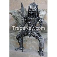 Scrap Metal Predator with Spear