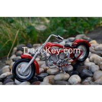 Red Wire Motorbike