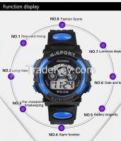 Digital LED Quartz Alarm Date Sports Wrist Watch