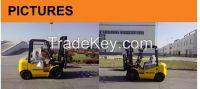 3.0 Ton Diesel Forklift with japan brand C240 engine and 3M standard Mast