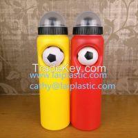 PE, PP 750MLsports water bottle, plastic bottle, handy bottle, football bottle, gift bottle