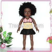 Vinyl craft doll, 18'' doll, black toy