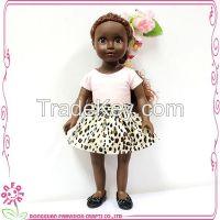 18 Inch beautiful big eyes girl doll,Fashion girl doll,black Plasitc doll