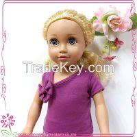 18 inch vinyl royal princess celebrity baby doll