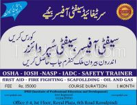 Diploma in safety officer