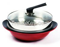 Wok with STS steamer(28/30/32/36)