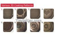 3D coating(PTFE based) fry pan/wok pan/pot