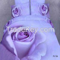 Duvet Cover (Purple Rose)