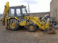 Used JCB backhoe loaders mod. 3CXT 10000 kg