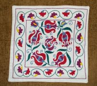 Embroideried Uzbek suzani cushion covers