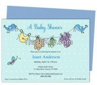 Arrival Baby Shower Template