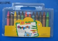 Crayons Packed With Blister
