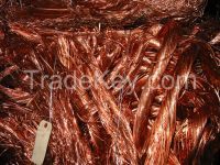 We export copper cathados