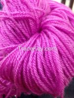 Hand knitting yarns, fancy yarns