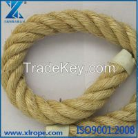 natural sisal fiber rope used on tanker