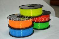 1.75mm 3mm ABS Filament 3D Printers Filament Comsumables Meterial