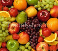 Fresh Fruits, Apples, Pears, Bananas, Mangos, Grapes, Melons,Peaches, Oranges, Fresh Lemons,