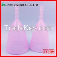 Customized reusable Silicone Menstrual cupsPlatinum Medical Silicone L