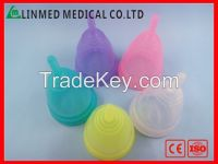 soft  Menstrual cupMedical Grade silicone Menstrual Cup instead of San