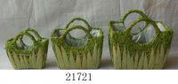Sisal Flower Pot